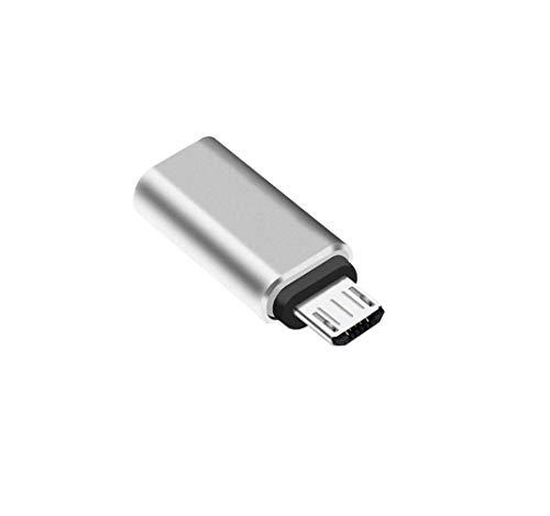 Deet® USB 3.1 Typ C Buchse auf Micro-USB Stecker Daten-Adapter Konverter USB-C