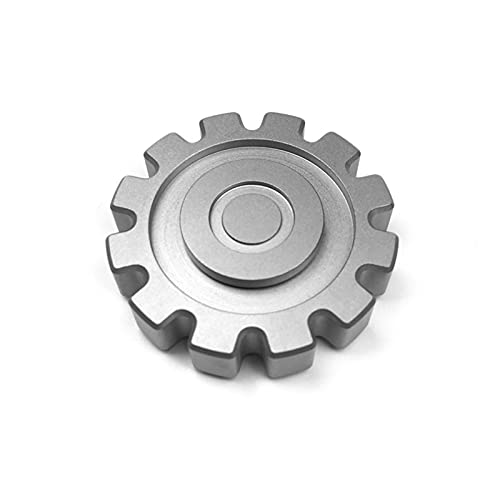 ADHD TC4 Titanium Alloy Anxiety Spinner Toy Classic Mechanical Style High Speed Hand Spinner for Kids Anti Anxiety Fidget Hand EDC Fidget Toys Stainless Steel Bearing Stress Relief Toys for Adults