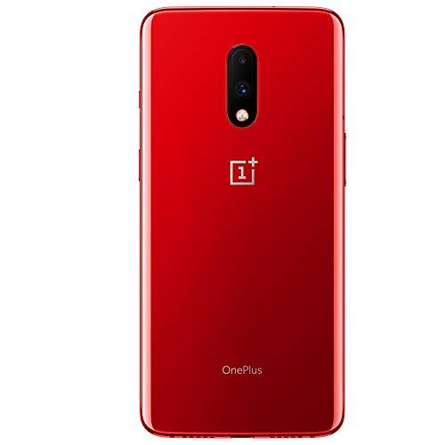OnePlus 7 (Red, 8GB RAM, Optic AMOLED Display, 256GB Storage, 3700mAH Battery)