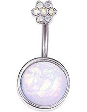 YJZO Navelring – sexigt hängsmycke navelnavel bar ring kroppspiercing smycken