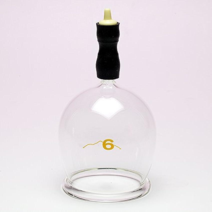 強度マージパーティション霧島ガラス玉(電動吸い玉機器用吸着具)完成品6号
