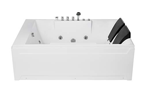 Empava 72' Acrylic Whirlpool Bathtub 2 Person...