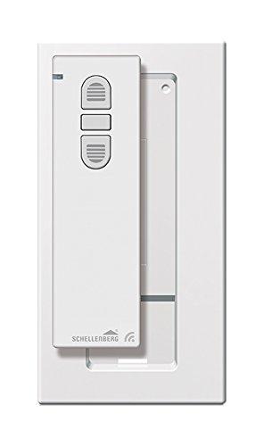 Schellenberg 20015 Smart Home Funk Handsender 1-Kanal,, 868,4 MHz, Weiß, Fernbedienung für Licht, Steckdose, Rolladensteuerung