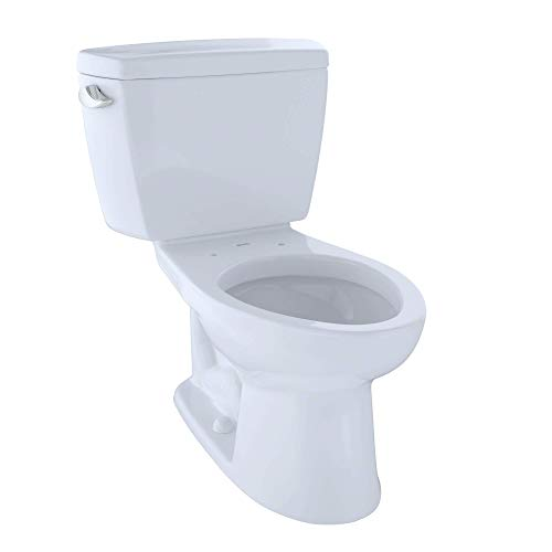 Toto CST744SF.10#01 CST744SF.10No.01 Drake Two-Piece Toilet, 1.6-GPF Cotton