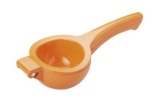 Kitchen Craft Healthy Eating Handheld Orange Squeezer/Citrus Juicer, Aluminium, 6 x 9 x 23 cm