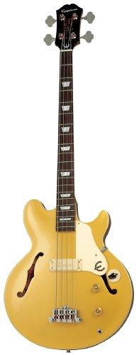 Epiphone Jack Casady Bass - Bajos eléctricos, color metallic gold