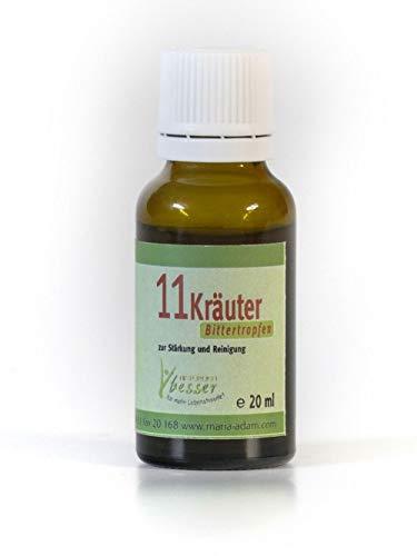 11 Kräuter Bittertropfen 20ml / 50 ml Original nach Hildegard von Bingen (20)