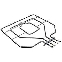 EVH-XTRA® Oberhitze Backofenheizung passend für Bosch, Siemens 2800W (Original EGO Teil Nr. 2025899000 baugleich mit Originalersatzteil) wie Orig.- Nr. 471369, 773539