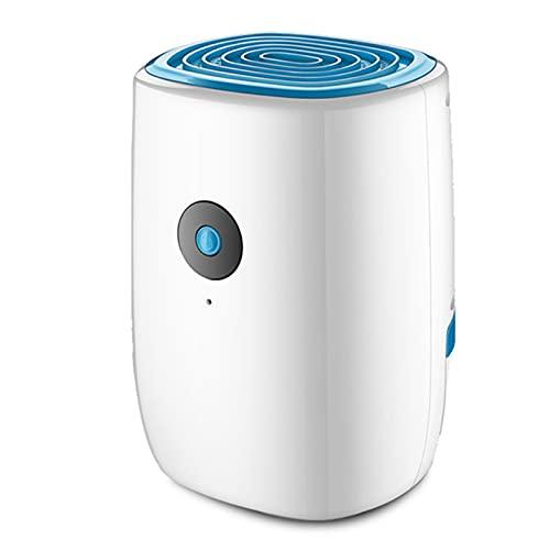 Deumidificatore da 800 ml per uso domestico, piccolo e ultra silenzioso e a risparmio energetico, molto adatto per camera da letto, bagno, cucina, cantina