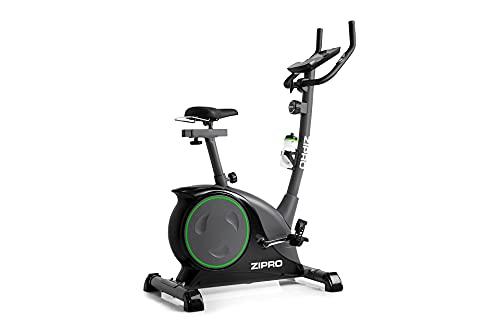 Zipro Erwachsene Magnetisches Fitnessbike Heimtrainer Nitro bis 150kg, Schwarz, One Size, einheitsgröße