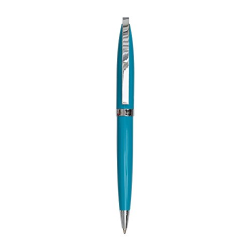 Semikolon (353478) Kugelschreiber New Classic in Etui turquoise türkis | Schweizer Mine in schwarz | Hochwertiger, edler Kugelschreiber in Geschenkbox