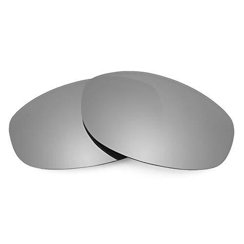 Revant Ersatzgläser Kompatibel mit Oakley Tightrope, Polarisiert, Elite Titan MirrorShield