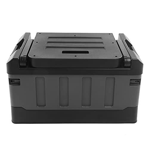 Organizador al aire libre, capacidad de 70 l, 200 kg/441 libras, respetuoso con el medio ambiente, fácil de llevar, caja de almacenamiento de coche para regalo para senderismo