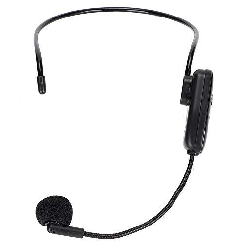 Garsent Micrófono inalámbrico, 2 en 1 Head-Wear Profesional Micrófono inalámbrico UHF Auricular...