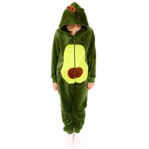 Avocado Onesie for Girls 10-12, Halloween One Piece Cosplay Boys Gifts