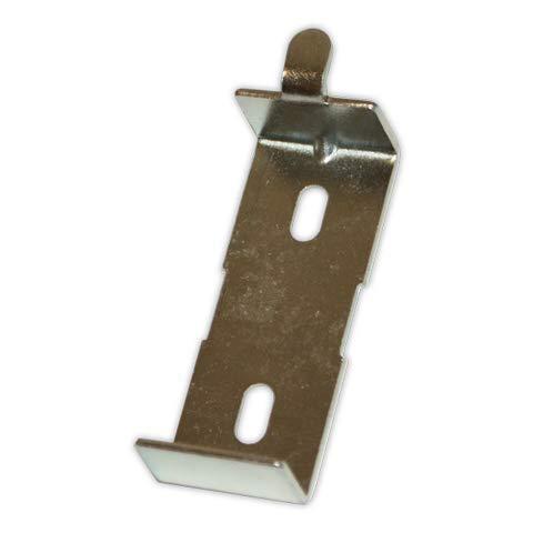 DOJA Industrial | Soporte para Radiador | PACK 2 | Tipo: Uña | Fijacion Pared Triangular para Calefactor Pared | Estantes para Radiadores Electricos, Radiadores de Agua, Emisor Termico, entre otros.