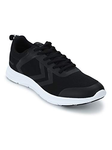 hummel Unisex-Erwachsene Kiel Sneaker, Schwarz (Black 2001), 45 EU