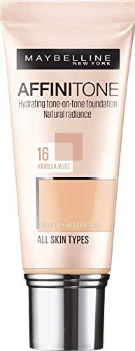 crema viso 16 anni Maybelline Affinitone Unifying Foundation Cream Fondotinta in crema uniformante (16 Vanilla Rose)