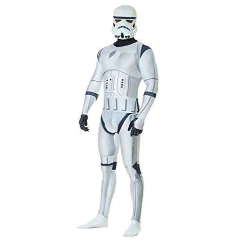 Morphsuits MLZSTL Star Wars Costume, Stormtrooper, Larg