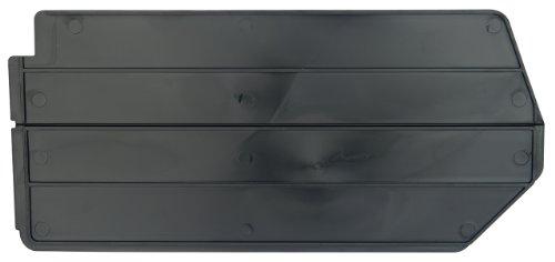 Akro-Mils 40260 Lengthwise Divider for 30260 AkroBin, Package of 6, Black