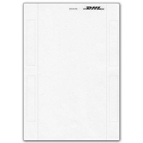 DHL Versandetikett Paket Label Etikett DIN A5 - 200 Stk
