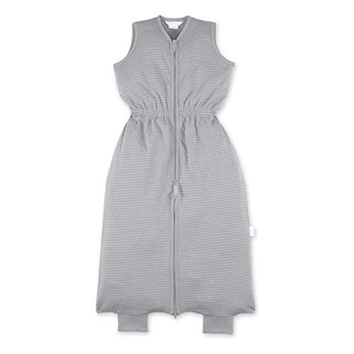 BEMINI Saco de dormir de 9 a 24 meses, diseño de rayas, color gris y beige