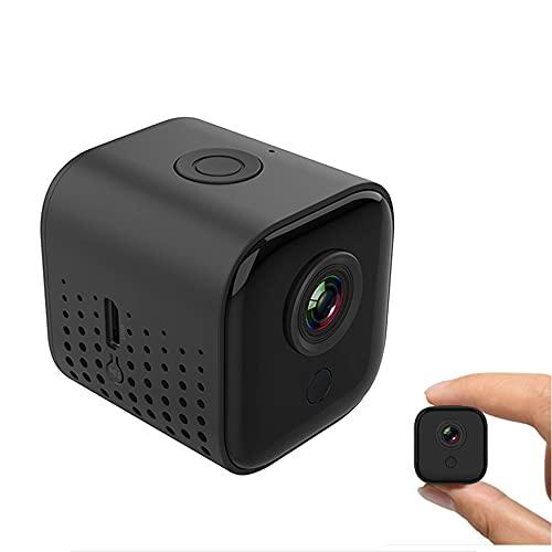 CHENPENG Mini cámara espía HD 1080P, cámara de niñera Oculta WiFi, cámaras de Seguridad encubiertas para Interiores y Exteriores, visión Nocturna para oficinas en Interiores en el hogar