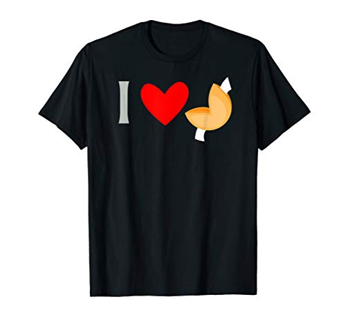 I Love Chinese Fortune Cookies Food T-Shirt