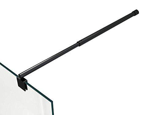 Stabilisationsstange Stabilisationsbügel Haltestange für Duschen - Stabilisator rund schwarz