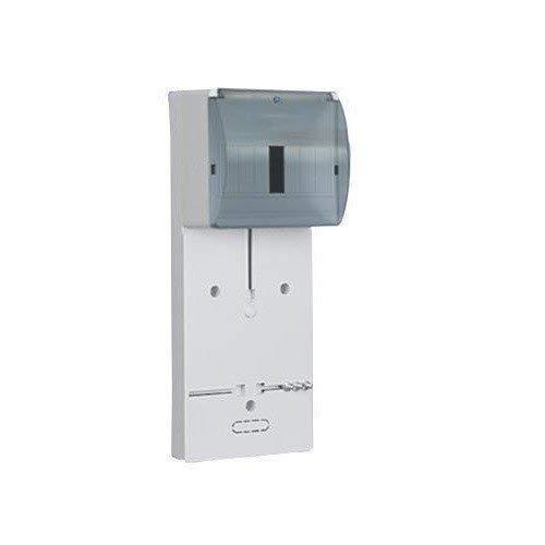 Zählertafel Zählerbrett f. Wechselstrom f. 1Phasige Zähler TLR-1F N+PE Platz 1-7 Module mit Kunststoff-Glas 0653
