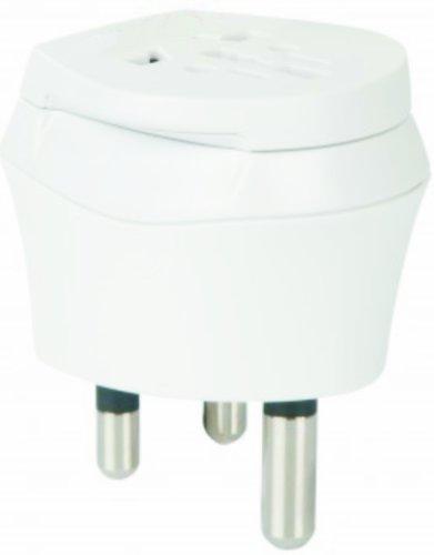 2 x Reiseadapter - Welt Kombi Reisestecker Stromadapter SET - Adapter für Norwegen auf Madagaskar für Steckdosen mit Schukostecker, Euro, 2 pol und 3 polige Strom Netz Stecker - NO-MG ( Travel Plug Adapter Norway to Madagascar )
