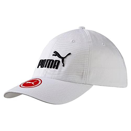 PUMA cap Ess, Cappello Unisex Adulto, Bianco (off/White/No.1), Taglia unica