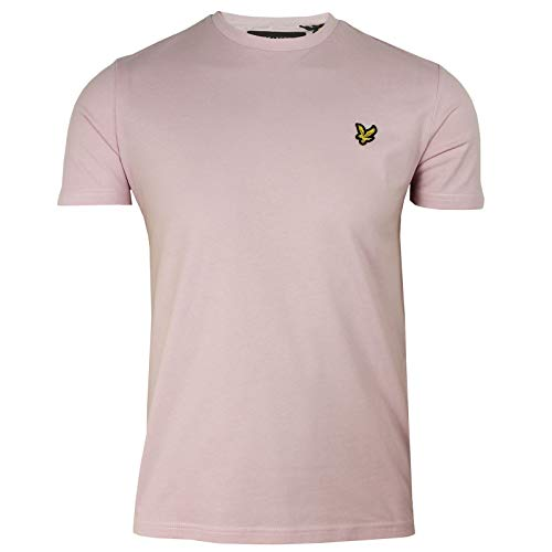 Lyle & Scott Plain Short Sleeve T-Shirt XX Large Dusky Lilac