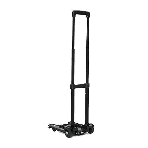 Hi-Gear Folding Luggage Cart, Black, One Size