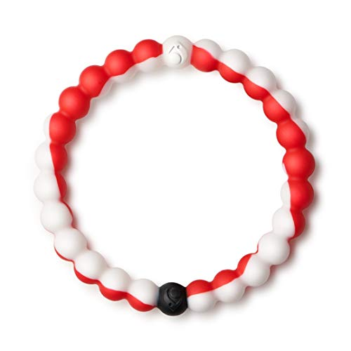 Lokai Wear Your World Cause Bracelet, Red/White, 7.5