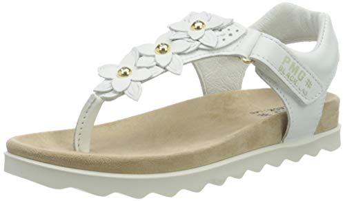 PRIMIGI Damen Sandalo Bambina T-Spangen Sandalen, Weiß (Bianco 5388233), 40 EU