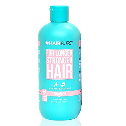 Hairburst Hair Growth Shampoo For Woman - Reduces Hair Loss - Strengthens Existing Hair Growth - Contains No SLS and Parabens - Coconut and Avocado Aroma - New Bigger Bottles 350ml