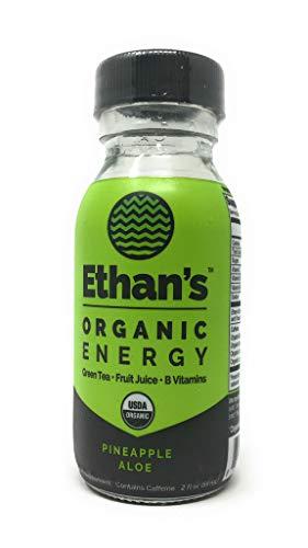 Ethans, Shot Clean Energy Pineapple Aloe, 2 Fl Oz