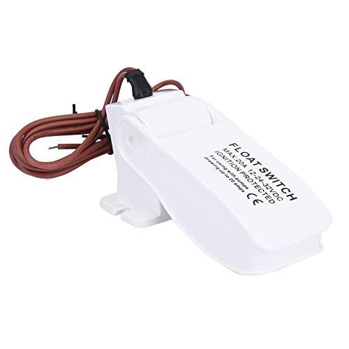 Wakects Automatische vlotter voor boten, 12 V DC, voor Sentina-pompen, automatische schakelaar van Sentina