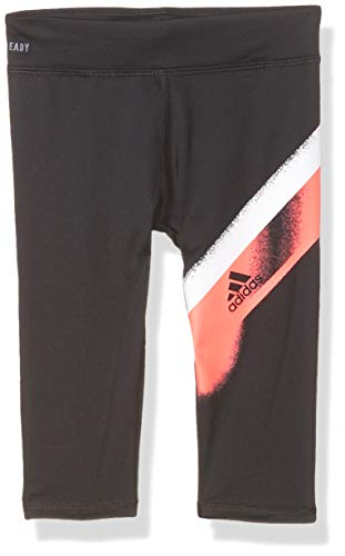 adidas Girls' Active Sports Athletic Ankle Length Legging Tight, Break Barriers Black, 3T