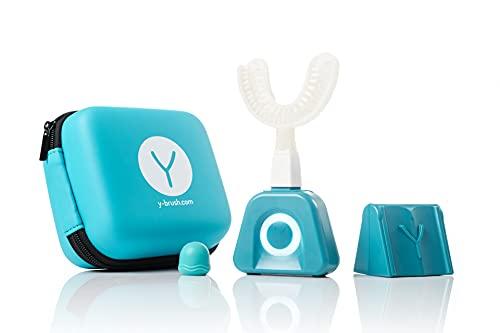 Y-Brush - Brosse à Dent Électrique - Brosse en Y - 3 Mois d'Autonomie - Pack All Inclusive Adulte