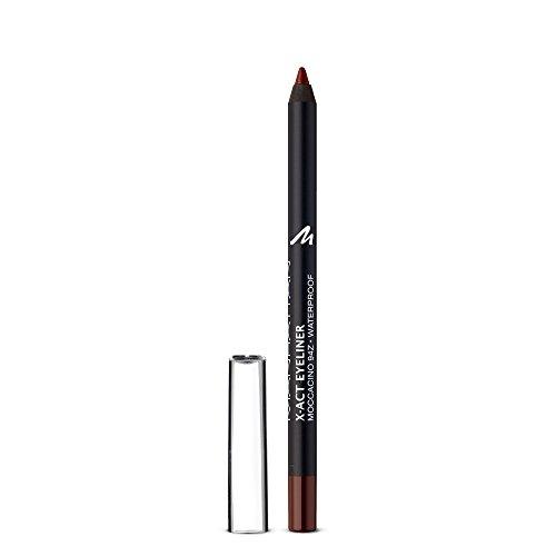 Manhattan X-Act Eyeliner Pen, Brauner Eyelinerstift für den idealen Lidstrich, Waterproof, Farbe Moccacino 94Z, 1 x 1g