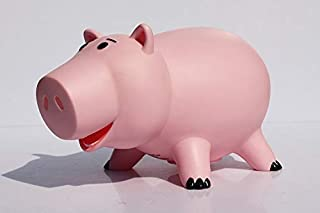 BIBILU Hamm Figure 8 inch Hot Toys Characters Action Figures Christmas Collectibles Halloween Mini Small Pink Pig Ham Coin Box Collectable Gifts Collectible Big Large Gift for Little Kids Baby