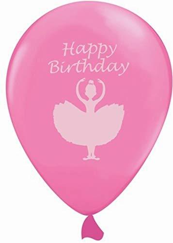 Generique - 6 Ballons Rose Danseuse Ballerine