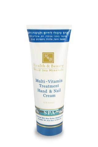 Health & Beauty ► Crème mains et ongles multivitaminée enrichie en minéraux de la mer Morte – 100 ml
