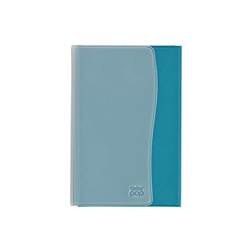 Sans 550051 Etui pour Papiers de Véhicule : Carte Grise, Permis de Conduire, Assurance. Bleu