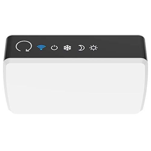 Konyks eCosy, contrôleur Wi-Fi pour radiateurs électriques, compatible Alexa et Google Home, Fil Pilote 6 ordres, voyants de mode, automatisations faciles…