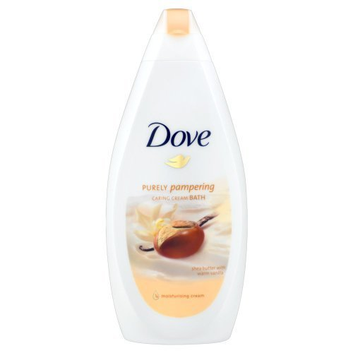 Dove Purely Pampering Shea Butter with Warm Vanilla Cream Bath - 500 ml by Unilever (English Manual)