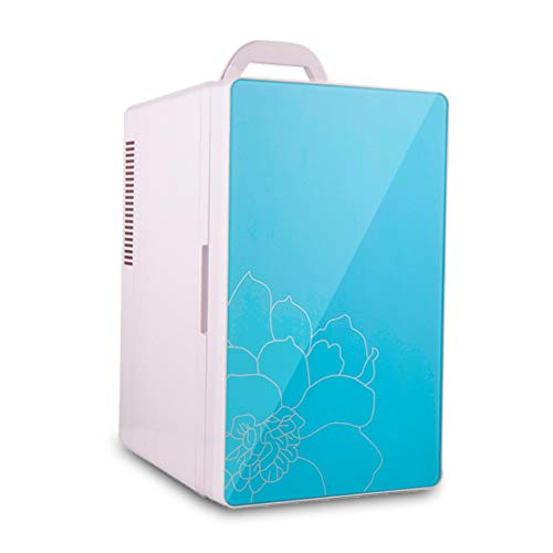 ZSEFV Car Refrigerator Electric Cooler and Warmer Thermoelectric Cooler and Warmer for Cars, Road Trips, Homes, Office (Color : Blue)