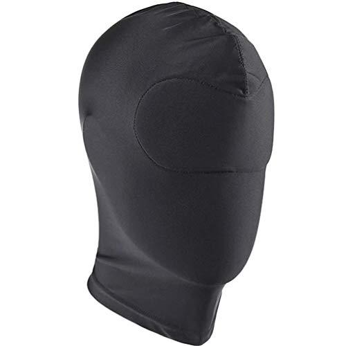 ZAKIA Adult Elastic Black Face Role Playing Mask Eye Mask Costume(004)